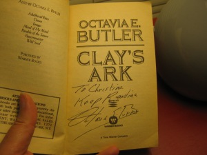 Signed Copy Clay's Ark
